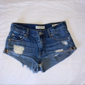 Bullhead - Women's Distressed Denim Shorts